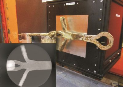NiCe: Neutron Imaging of a failed 1400s wrought iron tie rod from Milan Cathedral