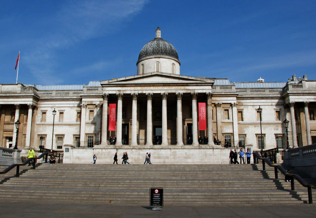Position in the Scientific Department at The National Gallery, London