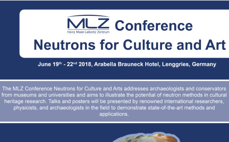 MLZ Conference – Neutrons for Culture and Arts: call