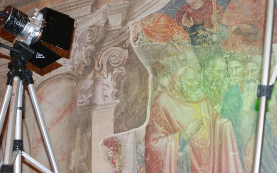 Recovering Giotto at the Basilica of Saint Anthony, Padua
