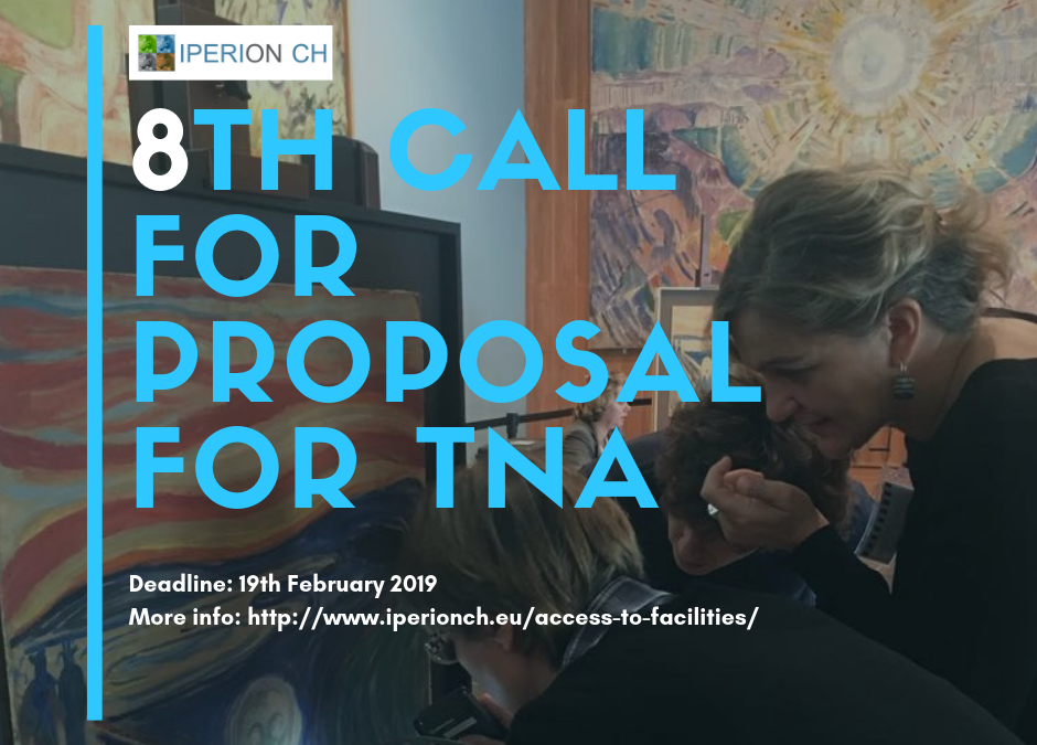 8th IPERION CH call for proposals for Transnational Access open