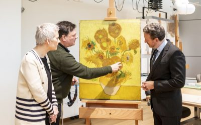 Vincent van Gogh's famousSunflowerscan not travel anymore