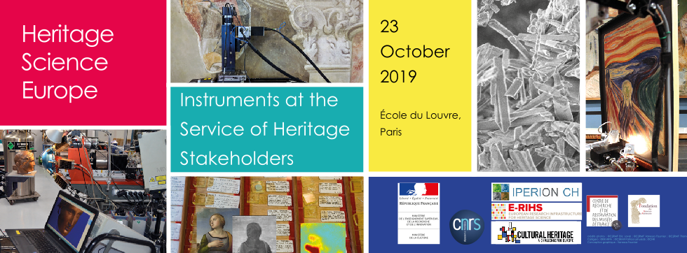 International symposium Instruments at the service of Heritage Stakeholders – Paris – October 23, 2019