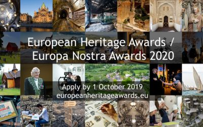 ILUCIDARE Special Prizes within the European Heritage Awards / Europa Nostra Awards 2020 – Call for entries – Deadline October 1, 2019